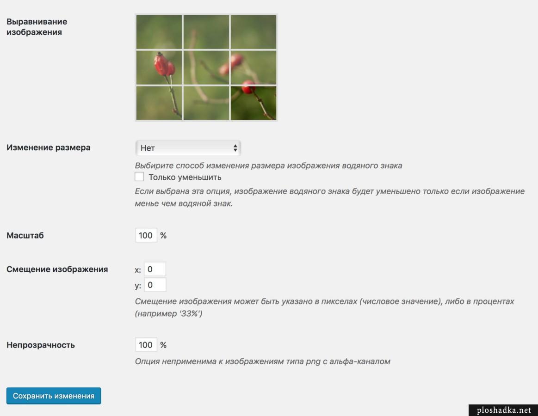 Easy Watermark — лучший плагин водяных знаков для WordPress