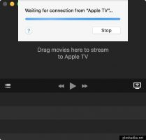 Beamer: Waiting for connection from Apple TV