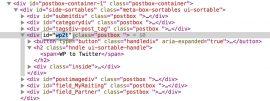 Как убрать блоки на странице редактирования записи WordPress