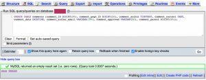 Создание таблицы в MySQL