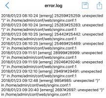 Не включается служба nginx на VPS сервере