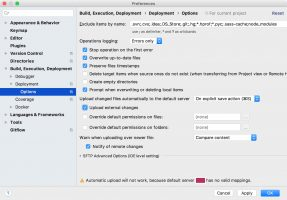 PhpStorm — Automatic upload will not work