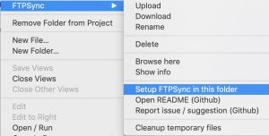 FtpSync — FTP для Sublime Text 3